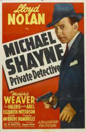 MICHAEL SHAYNE, PRIVATE DETECTIVE