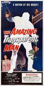 AMAZING TRANSPARENT MAN, THE